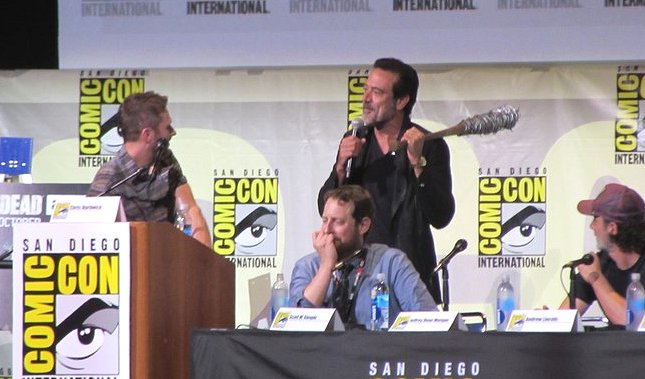 SDCC 2016, The Walking Dead, Jeffrey Dean Morgan