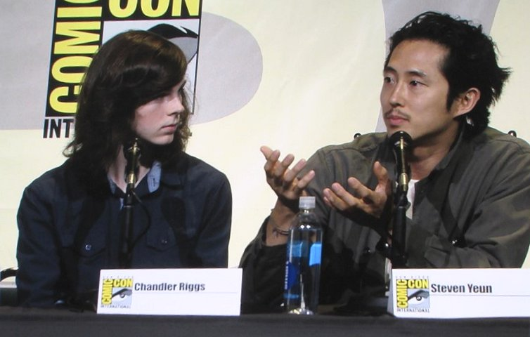 2016, The Walking Dead, Chandler Riggs, Steven Yeun