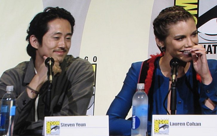 SDCC 2016, The Walking Dead, Steven Yeun, Lauren Cohan