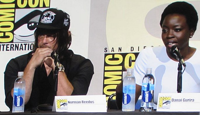 SDCC 2016, The Walking Dead, Norman Reedus, Danai Gurira