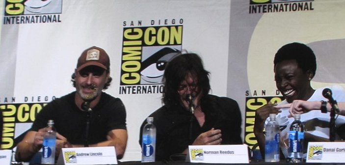 SDCC 2016, The Walking Dead, Andrew Lincoln, Norman Reedus, Danai Gurira