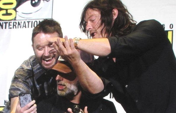 SDCC 2016, The Walking Dead, Chris Hardwick, Andrew Lincoln, Norman Reedus,