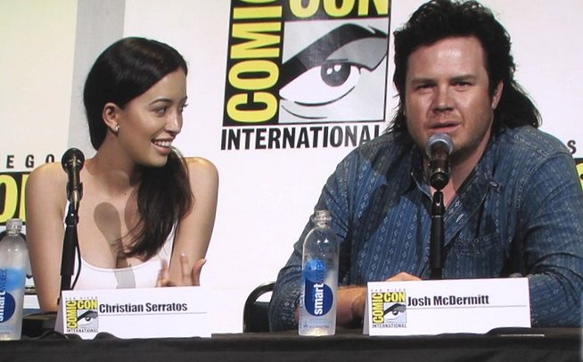 SDCC 2016, The Walking Dead, Christian Serratos, Josh McDermitt