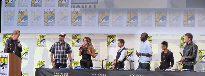 SDCC 2016, Warner Bros, DC directors