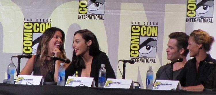 SDCC 2016, Warner Bros, Wonder Woman, Patty Jenkins, Gal Gadot, Chris Pine, Connie Nielsen