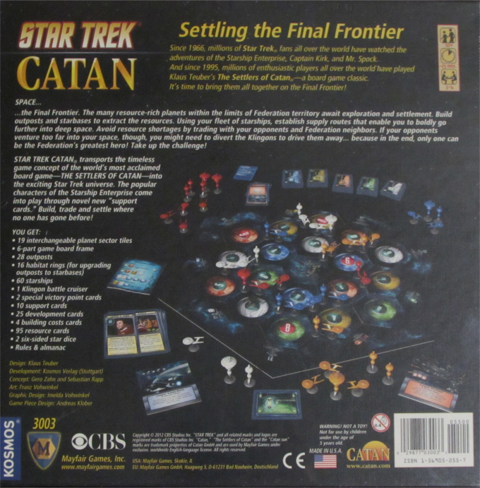 Star Trek Catan, giveaway