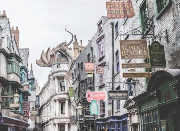 Bandwagon Corner, Harry Potter