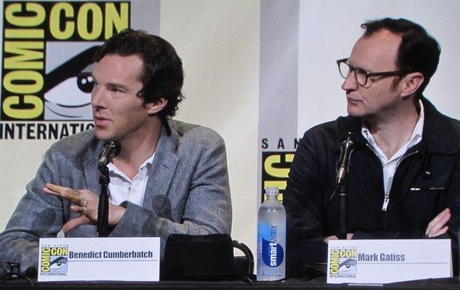 SDCC 2016, Sherlock, Benedict Cumberbatch, Mark Gatiss