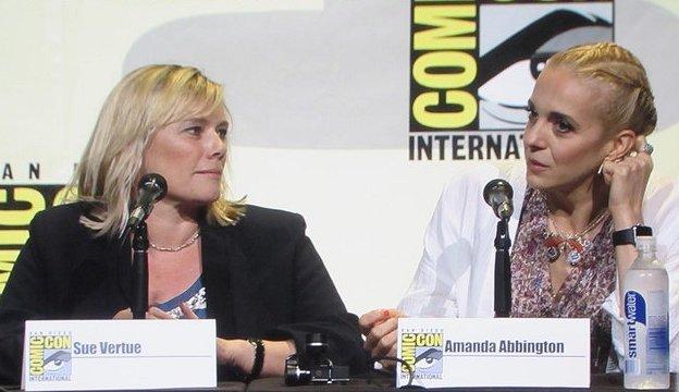 SDCC 2016, Sherlock, Sue Vertue, Amanda Abbington