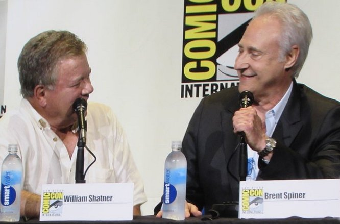 SDCC 2016, Star Trek, William Shatner, Brent Spiner