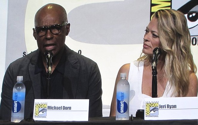 SDCC 2016, Star Trek, Michael Dorn, Jeri Ryan