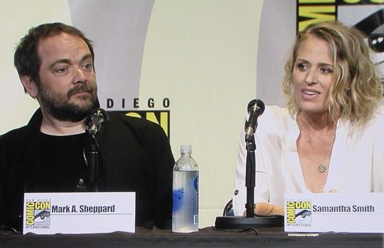 SDCC 2016, Supernatural, Mark Sheppard, Samantha Smith