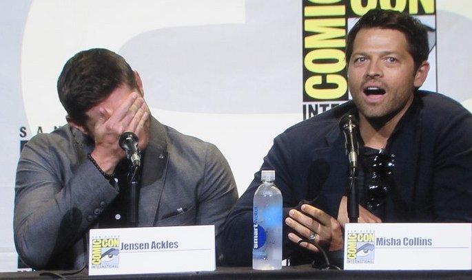 SDCC 2016, Supernatural, Jensen Ackles, Misha Collins