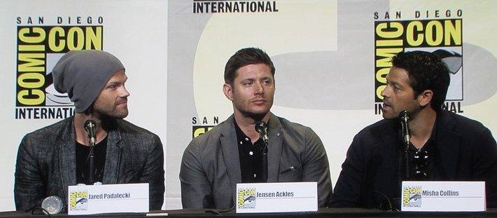 SDCC 2016, Supernatural, Jared Padalecki, Jensen Ackles, Misha Collins