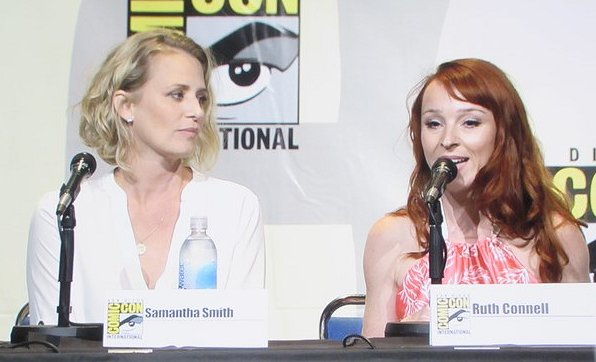 SDCC 2016, Supernatural, Samantha Smith, Ruth Connell