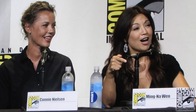 SDCC 2016, Women Who Kick Ass, Connie Nielsen, Ming-Na Wen