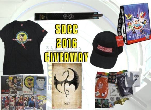 SDCC 2016 Giveaway