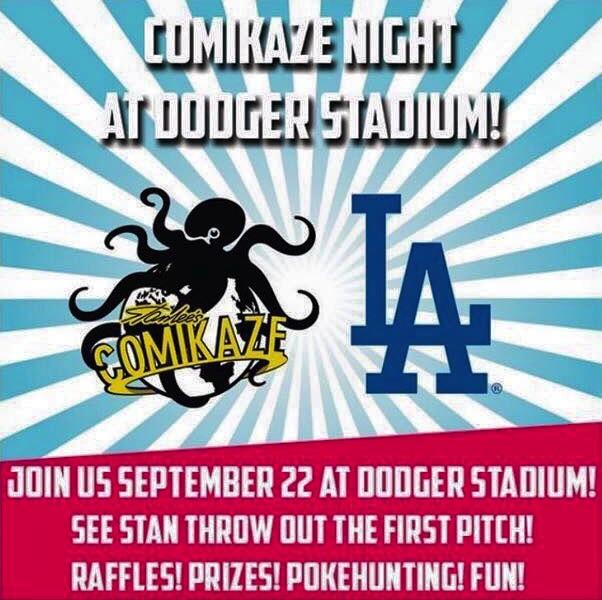 Comikaze Night at Dodger Stadium