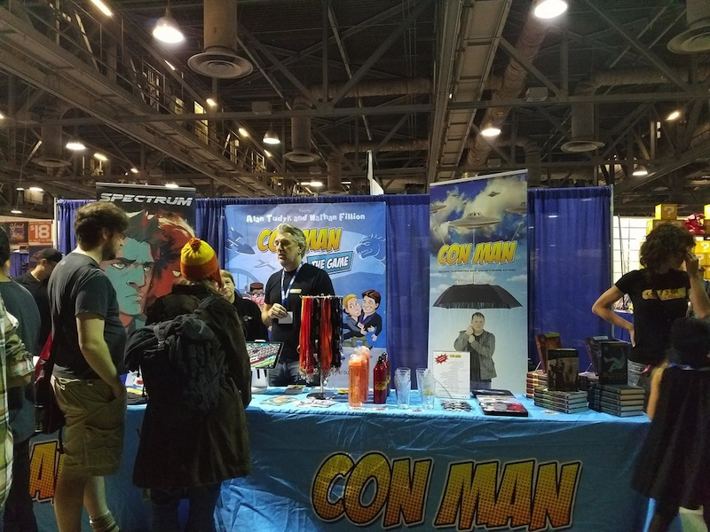 Long Beach Comic Con 2016, Con Man