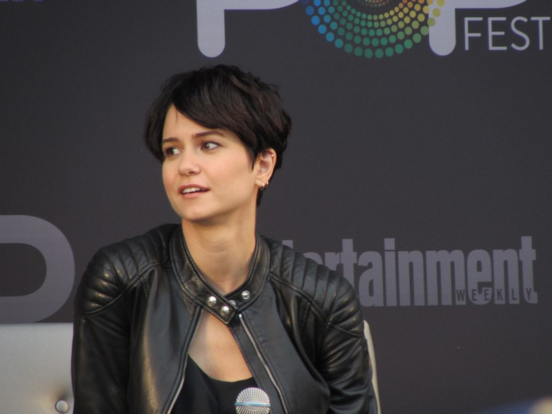 EW PopFest 2016, Fantastic Beasts and Where to Find Them, Katherine Waterston