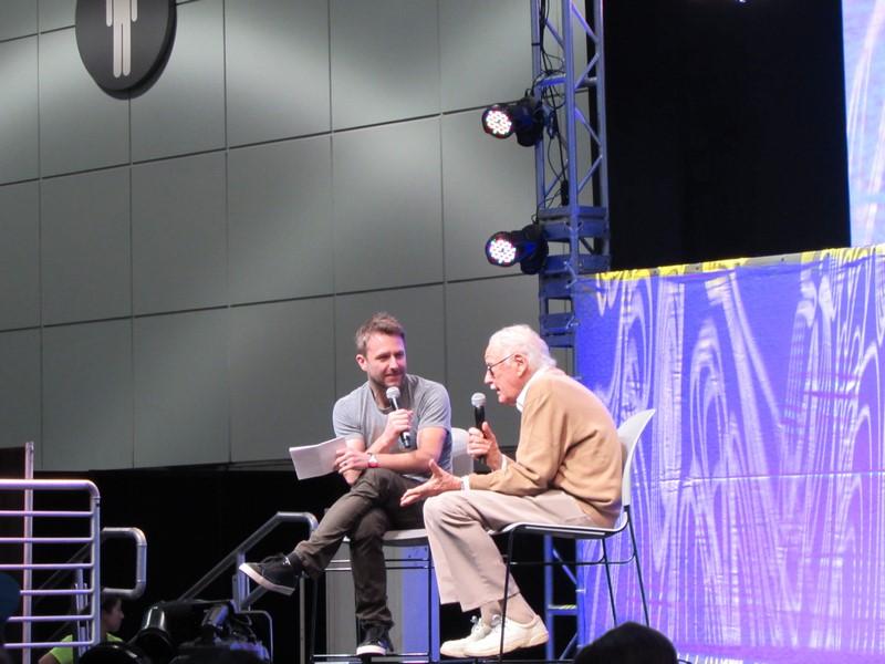 Stan Lee's LA Comic Con 2016, Chris Hardwick, Stan Lee