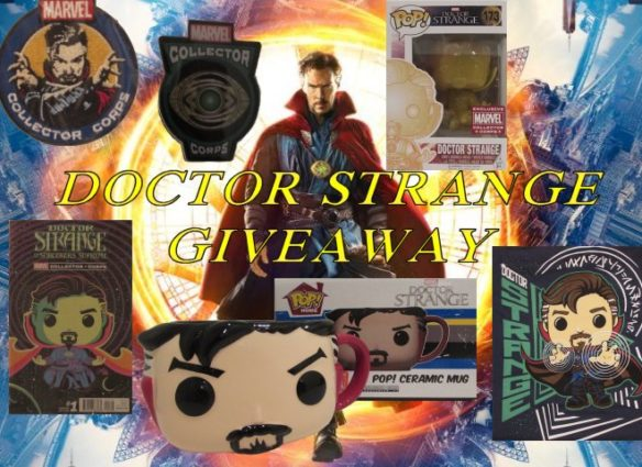Doctor Strange Giveaway, Marvel Collector Corps
