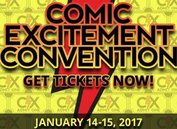 Upcoming Southern California January Conventions 2017, Comic Excitement Convention