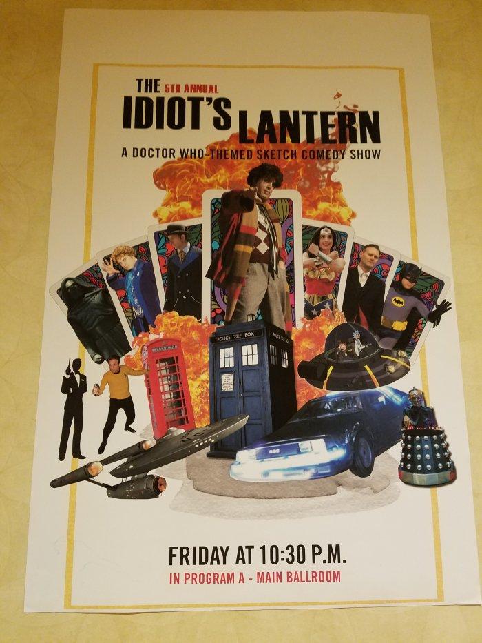 Idiot's Lantern Poster