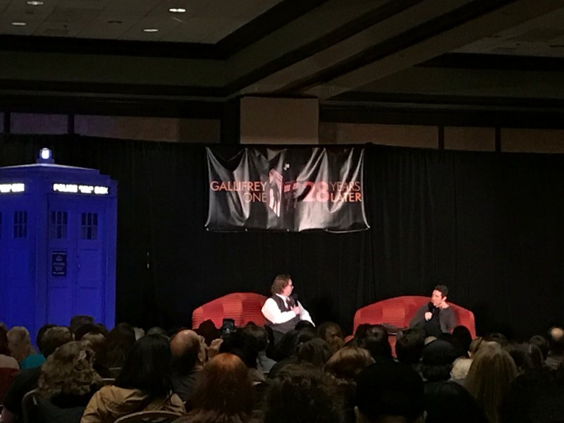 Gallifrey One 2017, Paul McGann, Eighth Doctor