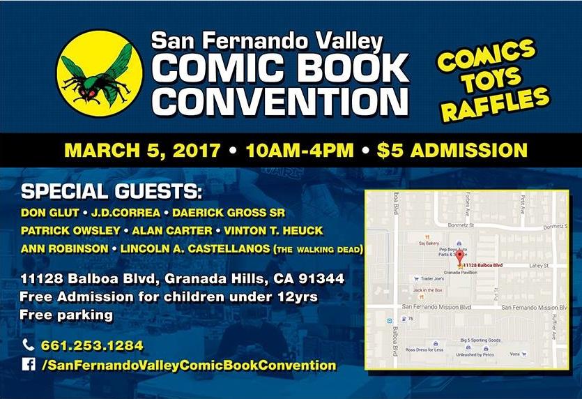 San Fernando Valley Comic Book Convention 2017