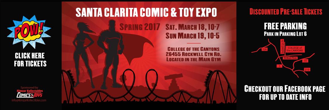 Santa Clarita Comic Expo 2017