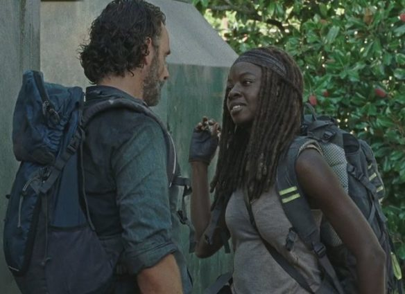 The Walking Dead, Season 7 Episode 12, Say Yes, Episode 712, Rick, Michonne