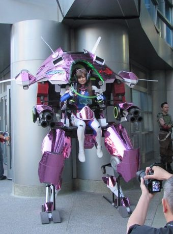 WonderCon 2017, Overwatch cosplay