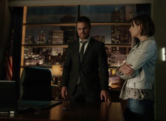 Arrow, Season 5 Episode 21, Honor Thy Fathers, Episode 21, Oliver Queen, Thea Queen