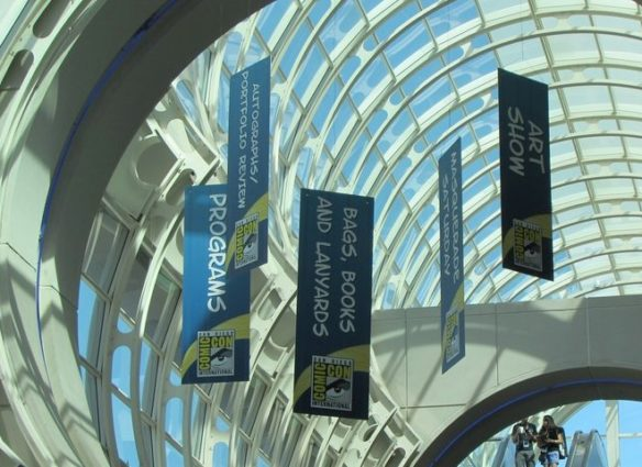 SDCC banners