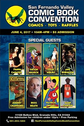 San Fernando Valley Comic Book Convention