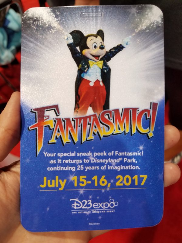 D23 Expo 2017, Saturday, Parks and Resorts