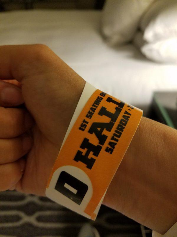 SDCC 2017, Hall H Wristband