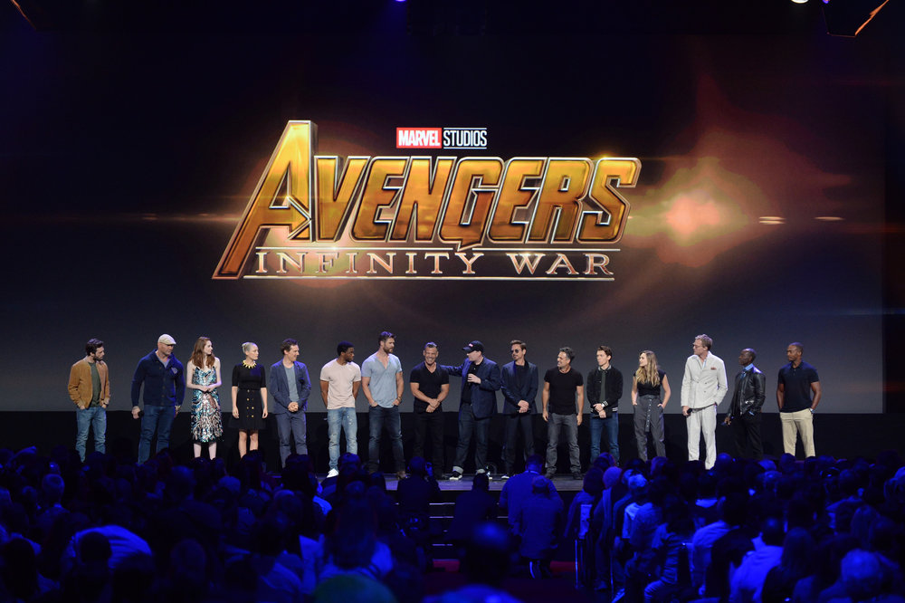 D23 Expo 2017, Live Action, Marvel, Infinity War