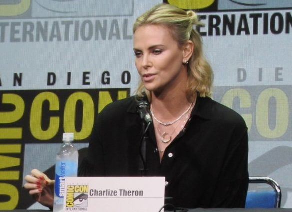 Charlize Theron at SDCC 2017