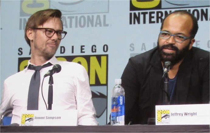 Jeffrey Wright discusses Westworld at SDCC 2017