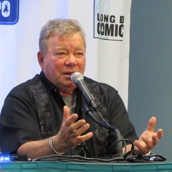 William Shatner at Long Beach Comic Con 2017