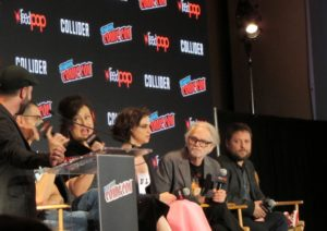 Child's Play/Cult of Chucky panel at NYCC 2017