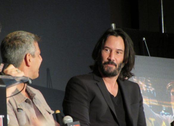 Keanu Reeves at NYCC 2017