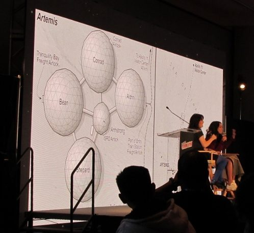 Artemis panel at NYCC 2017