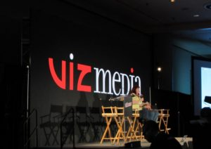 Viz Media panel at NYCC 2017