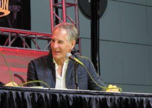 Scott Bakula at the Quantum Leap panel at LA Comic Con 2017