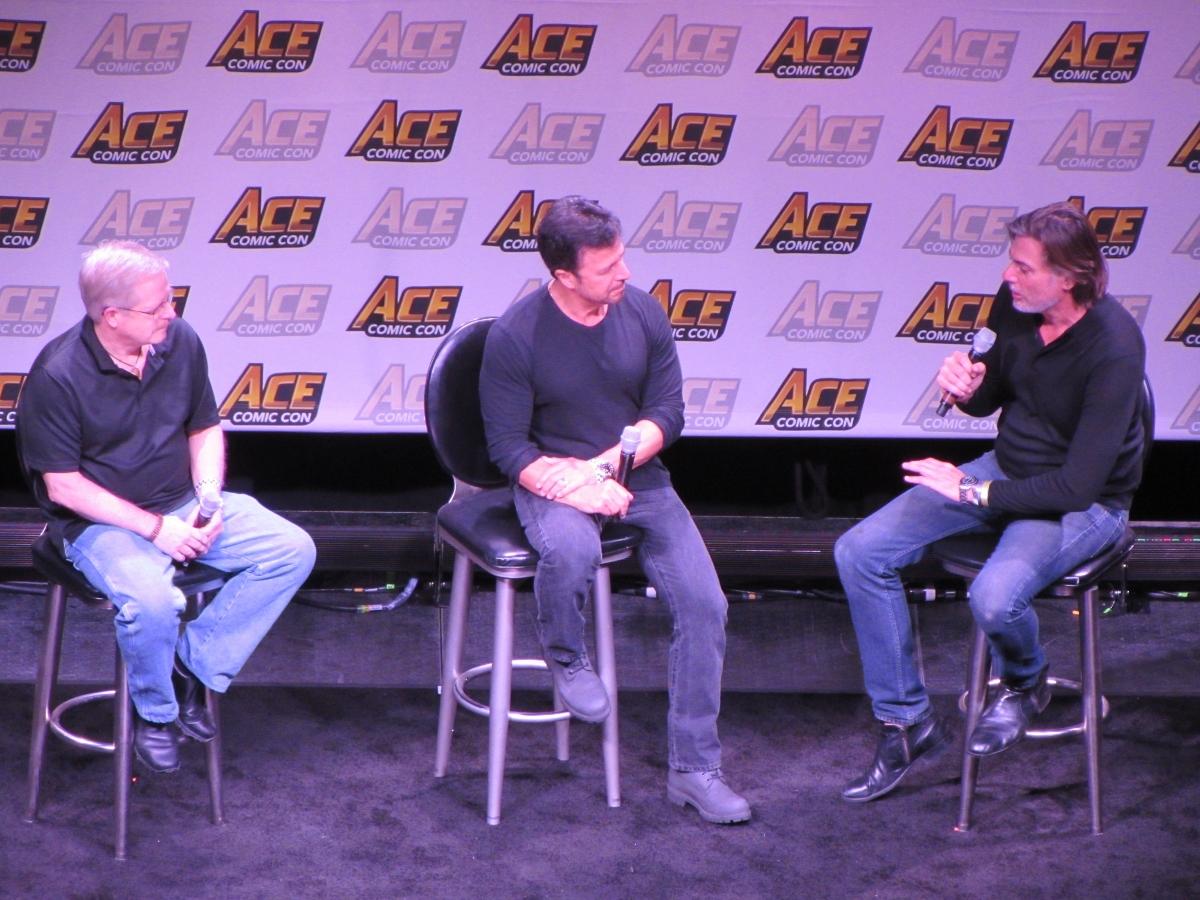 Mark Bagley and John Romita Jr. at Ace Comic Con Arizona