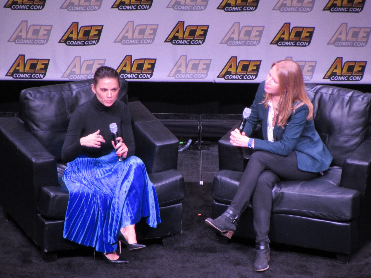 Hayley Atwell at Ace Comic Con